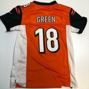 3/30$ Cincinnati Bengals AJ Green Youth Jersey
